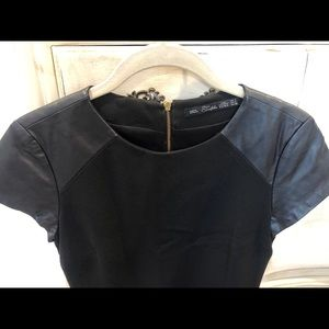 Zara Collection Black Dress